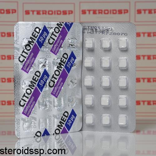 Packaging Citomed 50 mg Balkan Pharmaceuticals
