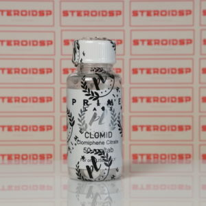 Packaging Clomid 50 mg Prime
