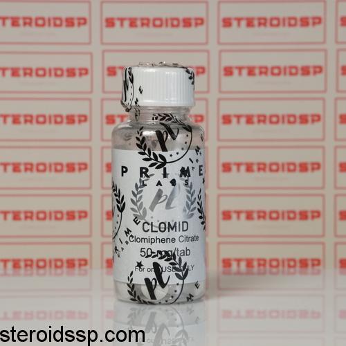Packaging Clomid 50 mg Prime