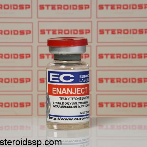 Packaging Enanject (Testosterone Enanthate) 250 mg Eurochem Labs