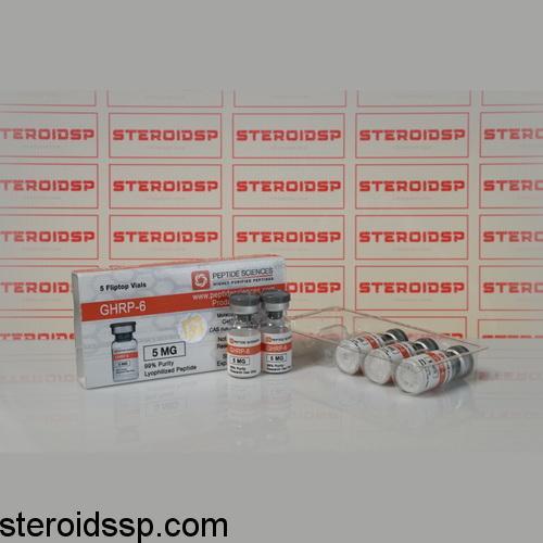 Packaging GHRP 6 5 mg Peptide Sciences