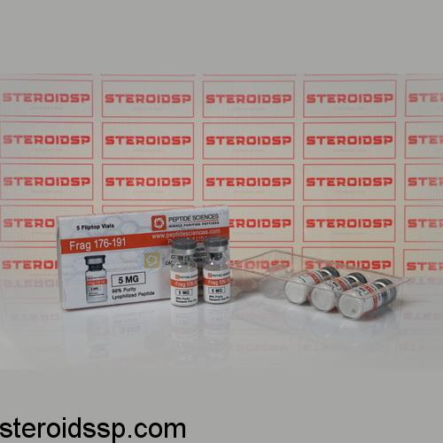Packaging HGH Frag 176-191 5 mg Peptide Sciences
