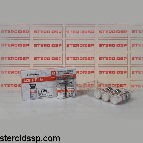 Packaging MGF IGF-1Ec 5 mg Peptide Sciences