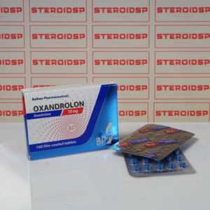 Packaging Oxandrolon 10 mg Balkan Pharmaceuticals