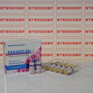 Packaging Parabolan 100 mg Balkan Pharmaceuticals