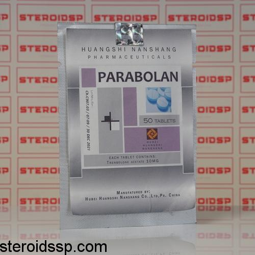 Packaging Parabolan (Trenbolone acetate) 50 mg Hubei Huangshi Nanshang