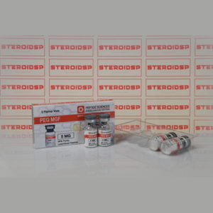 Packaging Peg MGF 5 mg Peptide Sciences