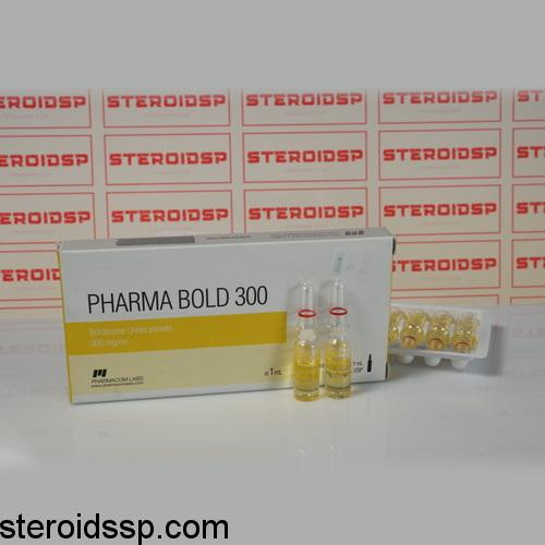 Packaging Pharma Bold 300 mg Pharmacom Labs