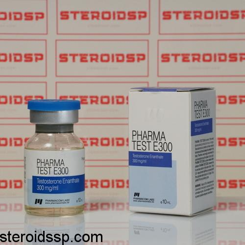 Packaging Pharma Test E 300 mg Pharmacom Labs