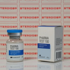 Packaging Pharma Test100 (Aquatest) 100 mg Pharmacom Labs