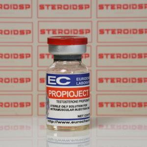 Packaging Propioject (Testosteron Propionat) 100 mg Eurochem Labs