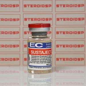 Packaging Sustaject (Testosterone Mix – Sustanon) 250 mg Eurochem Labs