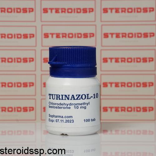Packaging Turinazol 10 mg Sopharma