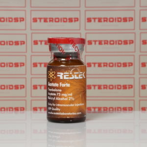Packaging Acetate Forte 75 mg Restek Laboratories