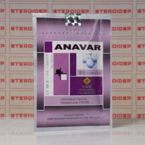 Packaging Anavar (Oxandrolone) 10 mg Hubei Huangshi Nanshang