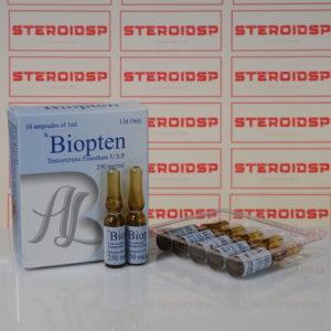 Packaging Biopten (Testosterone Enantate U.S.P.) 250 mg AdamLabs