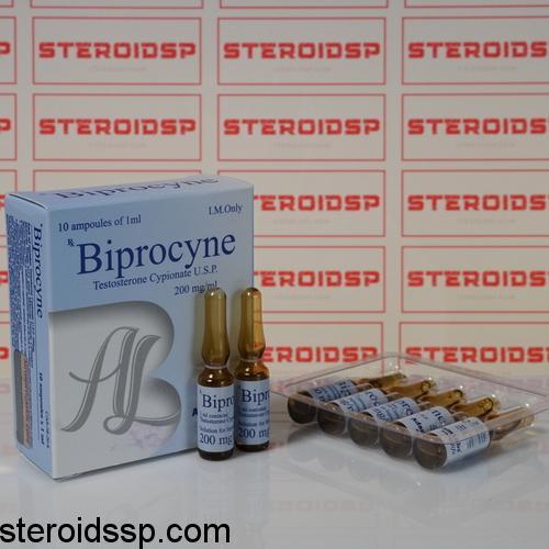 Packaging Biprocine (Testosterone Cypionate U.S.P.) 200 mg AdamLabs