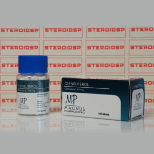 Packaging Clenbuterol 40 mcg Magnus Pharmaceuticals