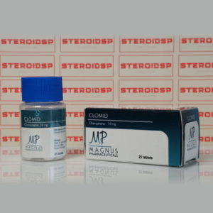 Packaging Clomid 50 mg Magnus Pharmaceuticals