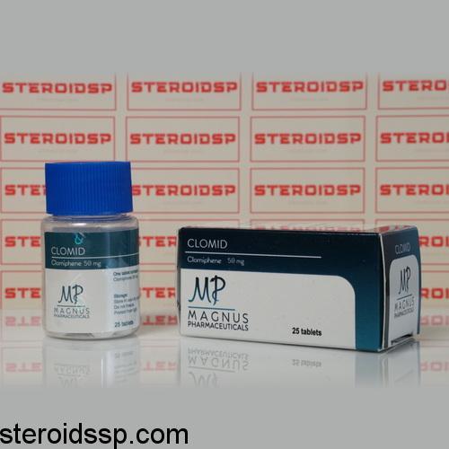 Packaging Clomid 50 mg Magnus Pharmaceuticals