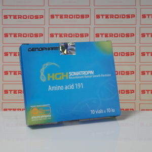 Packaging HGH Somatropin Amino acid 191 10 IU Genopharm