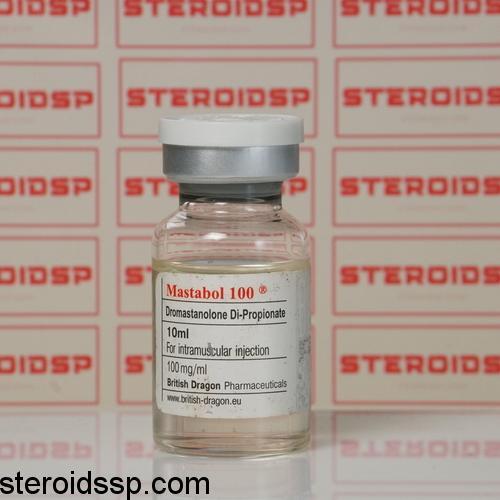 Packaging Mastabol 100 mg British Dragon Pharmaceuticals