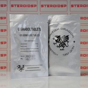 Packaging Oxanabol 10 mg British Dragon Pharmaceuticals