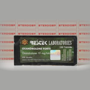 Packaging Oxandrolone Forte 10 mg Restek Laboratories