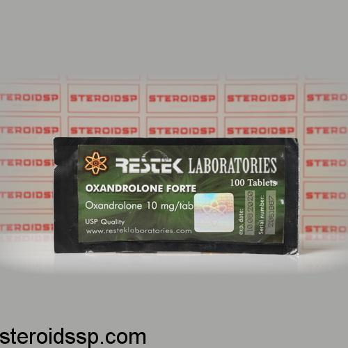 Packaging Oxandrolone Forte 10 mg Restek Laboratories