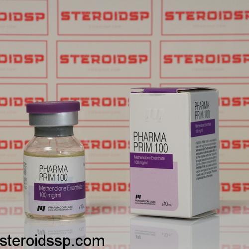 Packaging Pharma Prim 100 mg Pharmacom Labs
