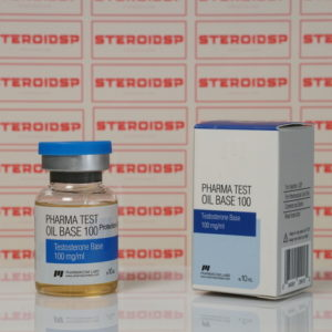 Packaging Pharma Test Oil Base 100 mg Pharmacom Labs