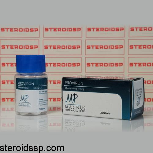 Packaging Proviron 50 mg Magnus Pharmaceuticals