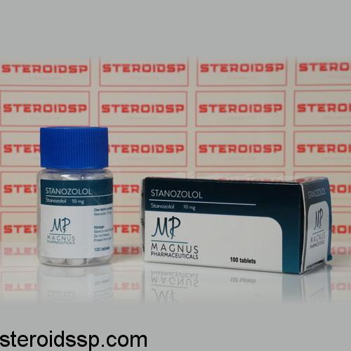 Packaging Stanozolol 10 mg Magnus Pharmaceuticals