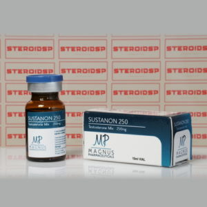Packaging Sustanon 250 mg Magnus Pharmaceuticals
