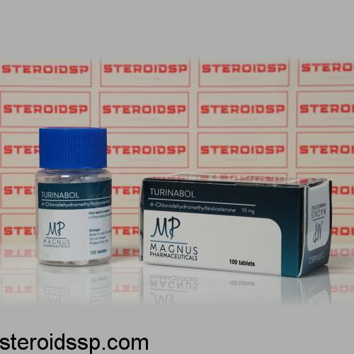 Packaging Turinabol 10 mg Magnus Pharmaceuticals