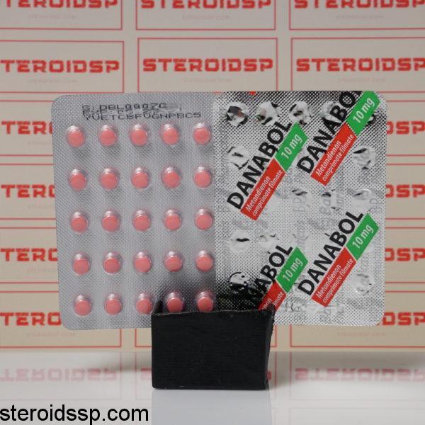 Packaging of Danabol 10 mg Balkan Pharmaceuticals