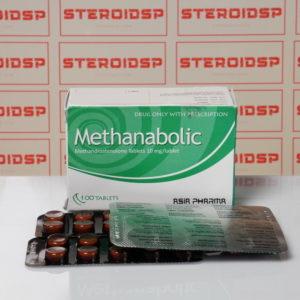 Packaging of Methanobolic 10 mg Asia Pharma