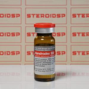 Packaging of Nandrodex 100 mg Sciroxx