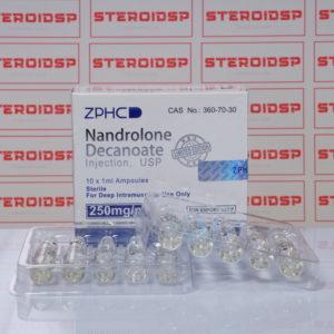 Packaging of Nandrolone Decanoate 250 mg Zhengzhou