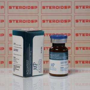 Packaging of Aquatest 100 mg Magnus Pharmaceuticals