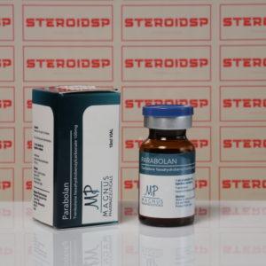 Packaging of Parabolan 100 mg Magnus Pharmaceuticals